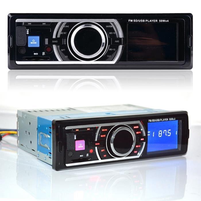 voiture audio st r o fm r cepteur avec lecteur mp3 et usb. Black Bedroom Furniture Sets. Home Design Ideas