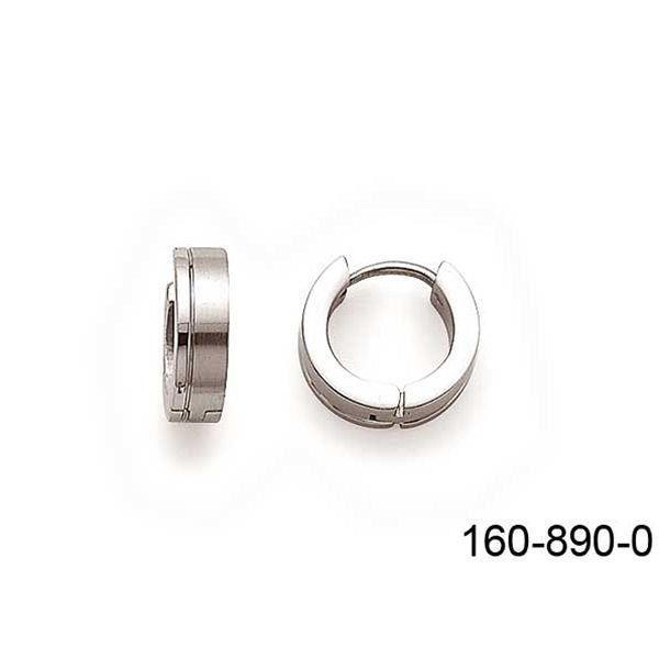 boucles d 39 oreilles petite cr ole en acier homme achat vente boucle d 39 oreille boucles d. Black Bedroom Furniture Sets. Home Design Ideas