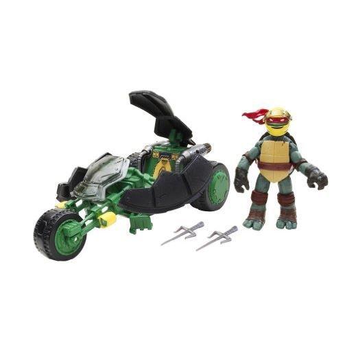 figurine personnage tmnt 5420 figurine moto de combat avec ra