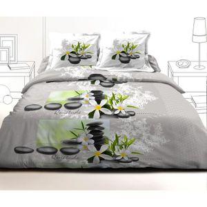 housse de couette 240x260 57 fils achat vente housse de couette 240x260 57 fils pas cher. Black Bedroom Furniture Sets. Home Design Ideas