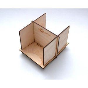 rangement a casier en bois achat vente rangement a casier en bois pas cher cdiscount. Black Bedroom Furniture Sets. Home Design Ideas