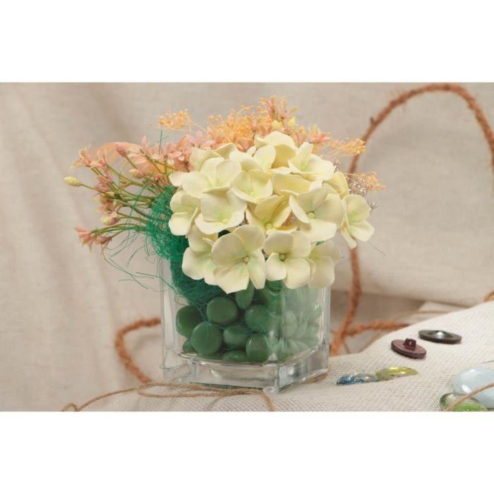 fleurs en p te polym re artificielles d coratives faites main hortensias achat vente fleur. Black Bedroom Furniture Sets. Home Design Ideas