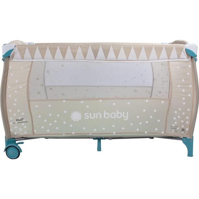 super lit voyage bebe beige achat vente lit pliant 2009935244242 cdiscount. Black Bedroom Furniture Sets. Home Design Ideas