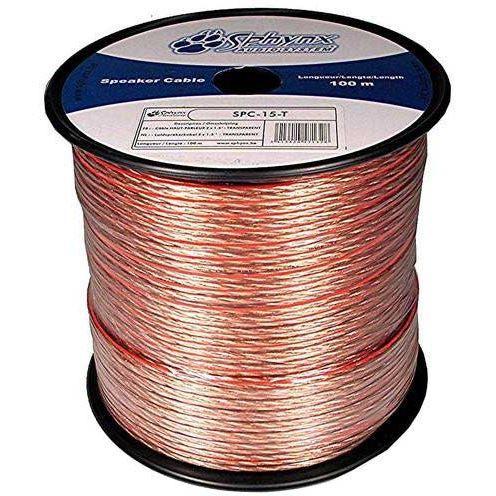 câble enceinte / hp 2 x 1.5 mm² 100 m spc 15 t Achat / Vente