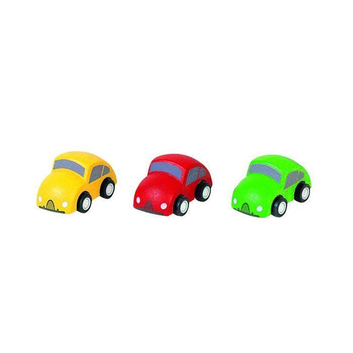 plan toys jeu en bois mini voitures achat vente voiture camion cdiscount. Black Bedroom Furniture Sets. Home Design Ideas