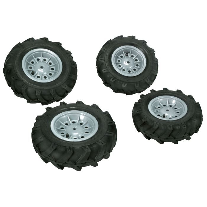 pneus gonflables 4 pi ces pour tracteur x trac e achat vente accessoire vehicule cdiscount. Black Bedroom Furniture Sets. Home Design Ideas