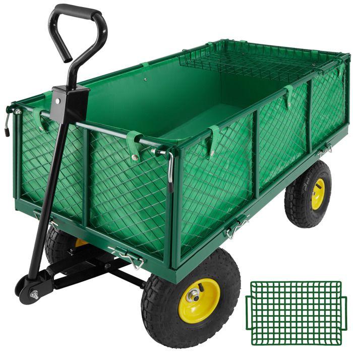 chariot de jardin avec b che et plateau max 550 kg achat. Black Bedroom Furniture Sets. Home Design Ideas