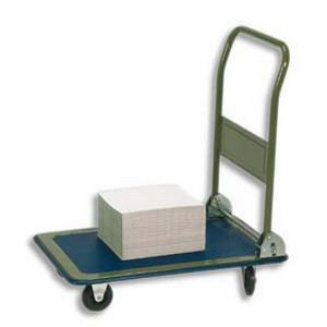 chariot de manutention conomique pliable 90x82 achat. Black Bedroom Furniture Sets. Home Design Ideas