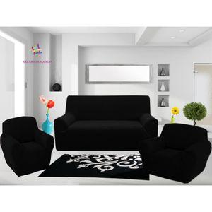housse de canap 3 places achat vente housse de canap 3 places pas cher soldes cdiscount. Black Bedroom Furniture Sets. Home Design Ideas