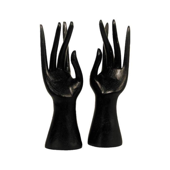 mains porte bijoux en bois achat vente baguier mains porte bijoux en bois cdiscount. Black Bedroom Furniture Sets. Home Design Ideas