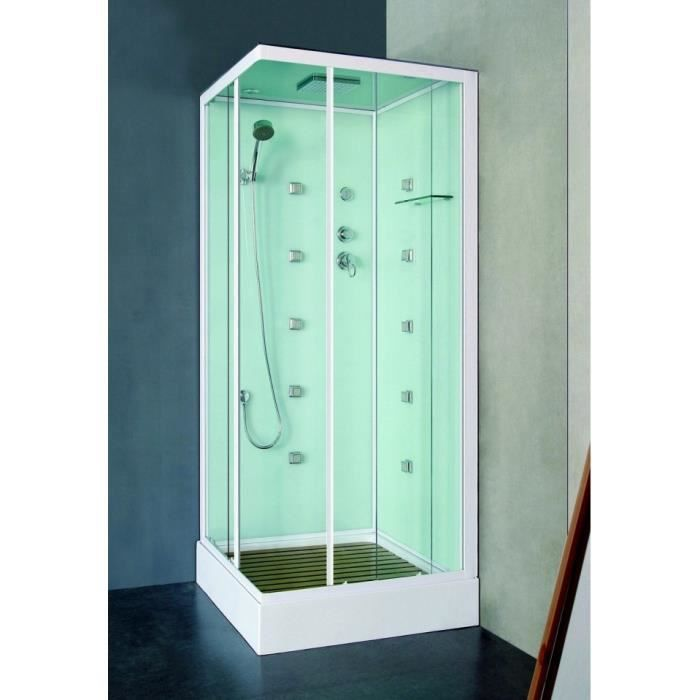 Cabine de douche sines 80 80 achat vente cabine de douche cabine de dou - Cabine de douche premier prix ...