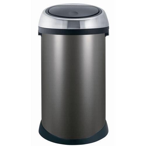 poubelle touch bin brabantia 50 l achat vente poubelle corbeille poubelle touch bin. Black Bedroom Furniture Sets. Home Design Ideas