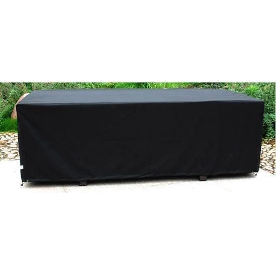 Housse de protection pour table 210x105 cm achat vente - Housse de protection table ...