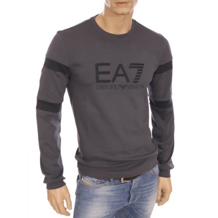 ea7 emporio armani pull sweat gris homme hiver 2016 274393 5a640 gris achat vente pull. Black Bedroom Furniture Sets. Home Design Ideas