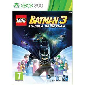 JEUX XBOX 360 Lego Batman 3 Au Delà de Gotham Jeu XBOX 360