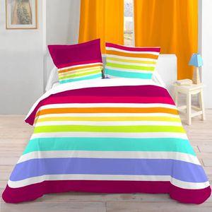 housse de couette 220x240 a bouton ou fermeture achat vente housse de couette 220x240 a. Black Bedroom Furniture Sets. Home Design Ideas