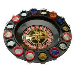 VERRE A DIGESTIF Jeu de roulette à boire avec 16 verres à shot e…