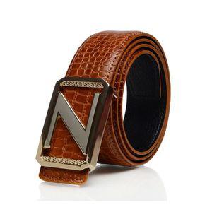 ... ceinture homme cuir marron noir taille 130 cm d4818063213
