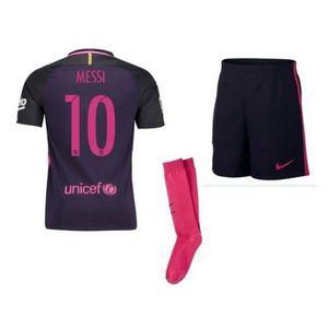 ENSEMBLE DE FOOTBALL Nouveau Mini-Kit Enfant Nike FC Barcelone Away Sai