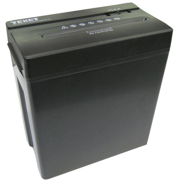 destructeur de documents coupe crois e 14l prix pas cher cdiscount. Black Bedroom Furniture Sets. Home Design Ideas