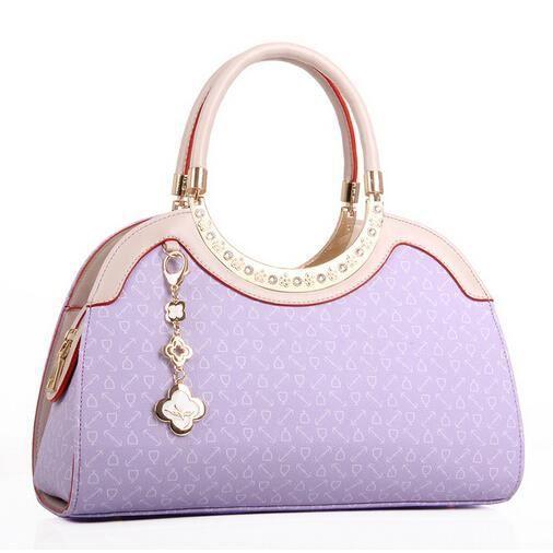 Sac à Main femme fourre tout pu violet,Ce sac possède un format ...