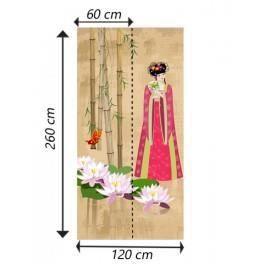 deco soon papier peint femme traditionnelle achat vente papier peint cdiscount