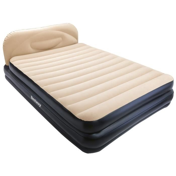 bestway matelas lit gonflable queen size 226cm achat vente lit gonflable airbed cdiscount. Black Bedroom Furniture Sets. Home Design Ideas