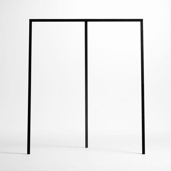 le portant pour v tements loop par hay est beau achat vente penderie mobile acier epoxy. Black Bedroom Furniture Sets. Home Design Ideas