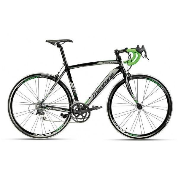 VÉLO DE COURSE - ROUTE Vélo course TOUR ROUTE shimano (48 - Noir/Vert …