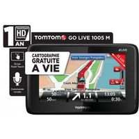 Navigation GPS TOMTOM GOLIVE 1005M NOIR EUROPE 45 PAYS CARTE A VIE