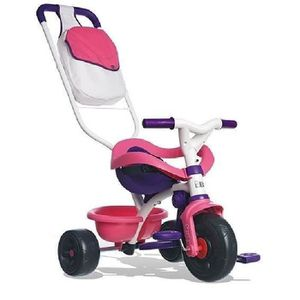 SMOBY Tricycle Be Move confort Fille Evolutif 8 ? 36 mois