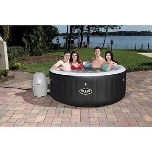 MIAMI Spa rond gonflable 2/4 places 180x65 cm