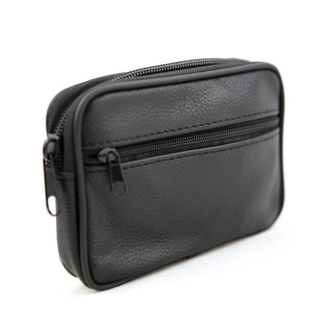 Etui housse pochette zipp e passant ceinture cuir for Housse zippee