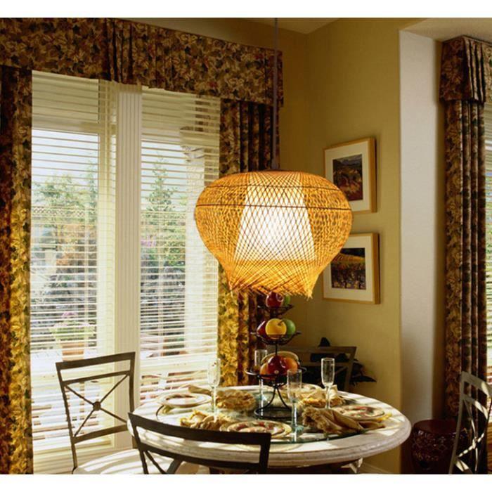 moderne nouveau chinoise bambou restaurant main abat jour lanterne lustre achat vente. Black Bedroom Furniture Sets. Home Design Ideas