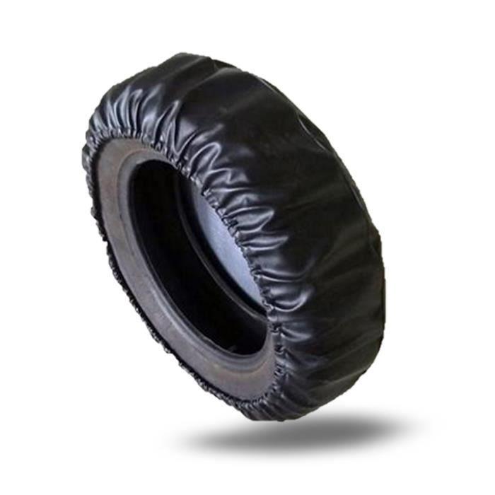 housse pr pneu 15 pouces roue de couverture pneu secours couvre pour voiture noir achat. Black Bedroom Furniture Sets. Home Design Ideas