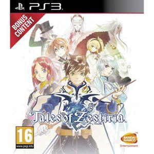 JEU PS3 Tales Of Zestiria Jeu PS3