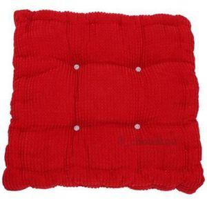 Rouge coussin de sol garni 40cm x 40cm d 39 oreiller cushion - Coussin de sol grande taille ...