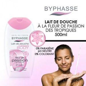 GEL - CRÈME DOUCHE Byphasse - Lait de Douche Fleur de Passion des …