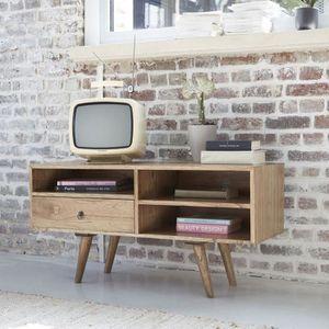Meuble tv scandinave achat vente meuble tv scandinave for Meuble tv scandinave 110 cm