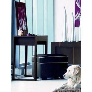 meuble coiffeuse miroir moderne achat vente coiffeuse meuble coiffeuse miroir m cdiscount. Black Bedroom Furniture Sets. Home Design Ideas