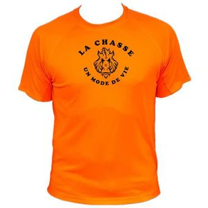 MAILLOT DE CHASSE Tee-shirt homme chasse Sanglier Face