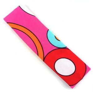 BANDEAU - SERRE-TÊTE Bandeau enfant motif cercle - rose - RC002715