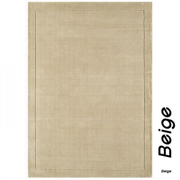 tapis contemporain uni beige york en laine collection grand cru by joseph lebon 60 x 120 cm. Black Bedroom Furniture Sets. Home Design Ideas