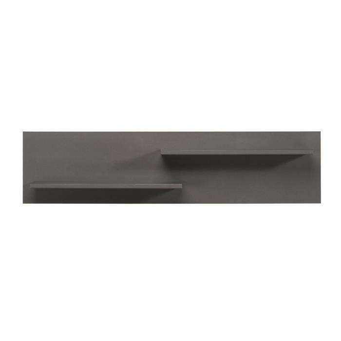 maison meubles mobilier etagere murale chene gris harvey f  cot