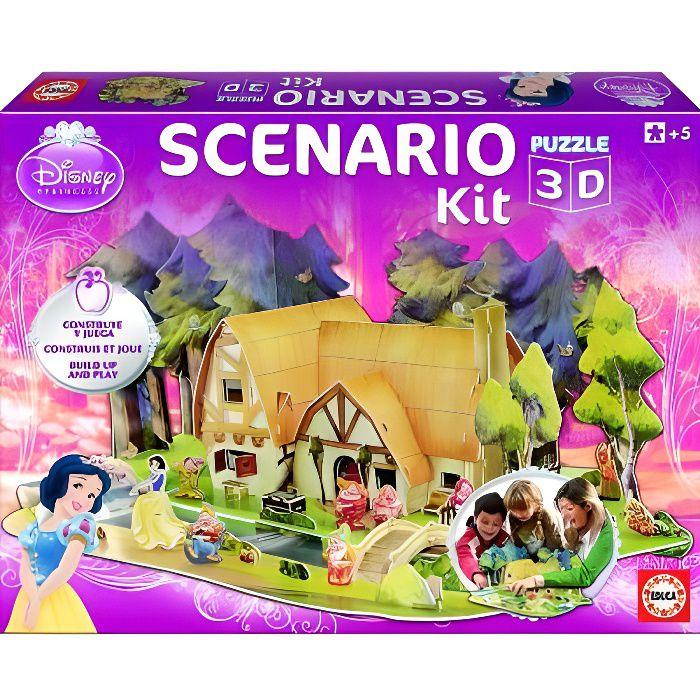 Scenario kit princesses disney blanche neige achat vente assemblage construction cdiscount - Jeux de blanche neige gratuit ...