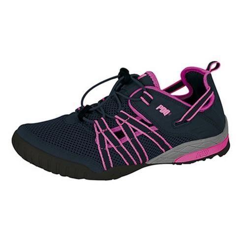 pdq sandales de sport femme bleu marine rose achat. Black Bedroom Furniture Sets. Home Design Ideas