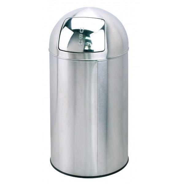 poubelle avec couvercle bouton mod le ad 253 achat vente poubelle corbeille poubelle. Black Bedroom Furniture Sets. Home Design Ideas