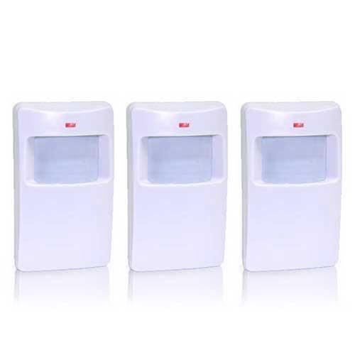 pack de 3 d tecteurs infrarouge sans fil gx achat. Black Bedroom Furniture Sets. Home Design Ideas