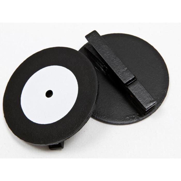 disque musique 33 tours sur pince en bois blanc achat vente d coration de table bois. Black Bedroom Furniture Sets. Home Design Ideas