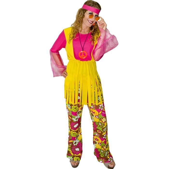 Deguisement adulte hippie dame achat vente d guisement - Deguisement dame blanche ...